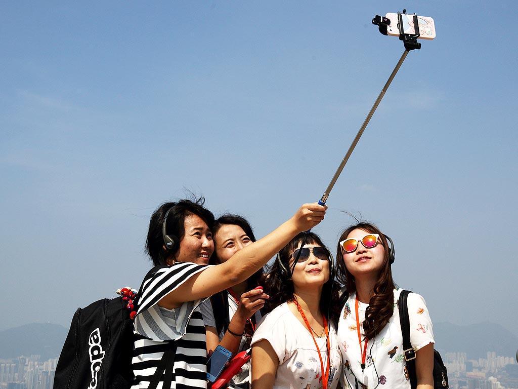 Selfie-stick in Bangkok