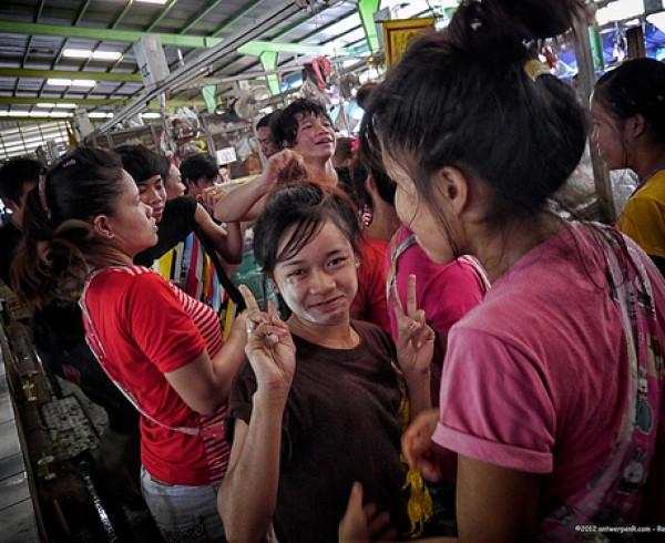 Strange habits of Thailand people